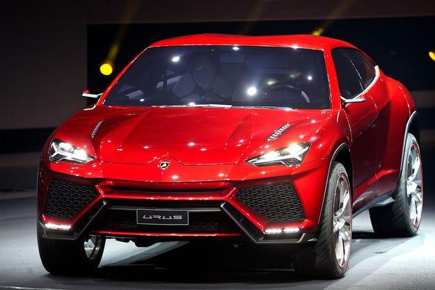 Lamborghini иска данъчни облекчения за кросоувъра Urus