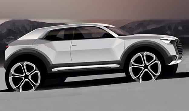 Audi измисли името на новия си малък кросоувър