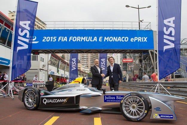 Visa Европа става официален партньор на Formula Е