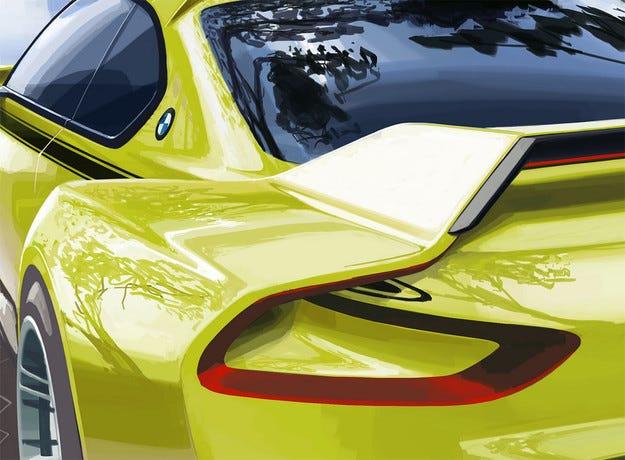 Пуснаха първо изображение на нов ретро концепт на BMW