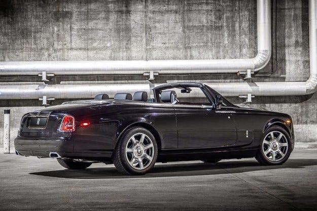 Rolls-Royce измисли името на новия си кабриолет