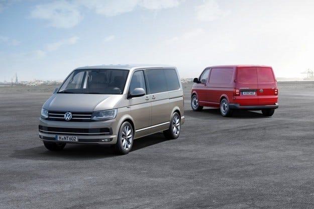Volkswagen пусна серийно производство на новия Transporter