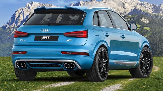 По-мощен Q3: Abt Sportsline ревизира 2-литровия TDI