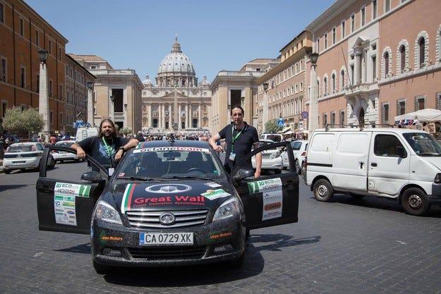 Октан рали тим завърши осми в Сан Марино