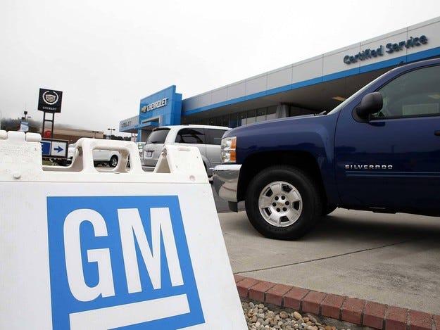GM е готов да плати обезщетение на руските дилъри