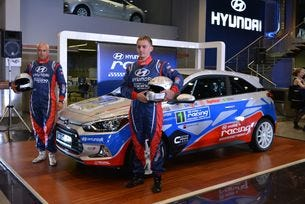 Представиха автомобила за Hyundai Racing Trophy