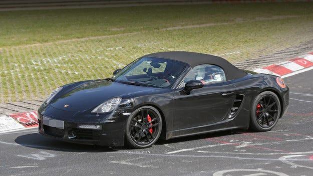 Роудстърът Porsche Boxster ще има и 4-цилиндрови двигатели