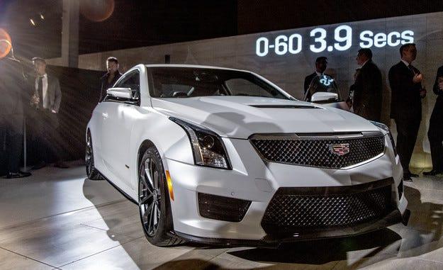 Седанът Cadillac ATS ще има нов седемлитров двигател