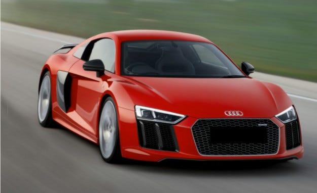 Lamborghini Huracan и Audi R8 с нов 5-цилиндров двигател