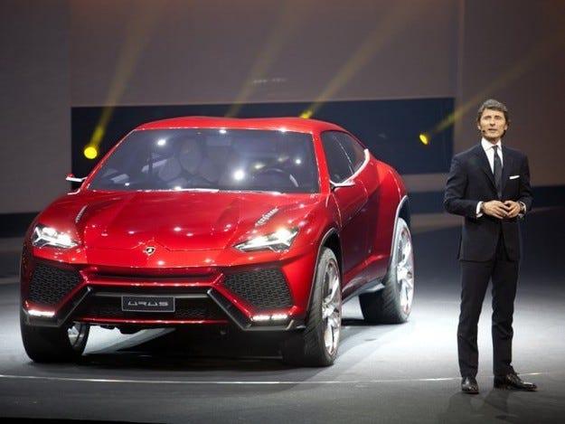 Lamborghini ще пусне първия си кросоувър през 2018 г.