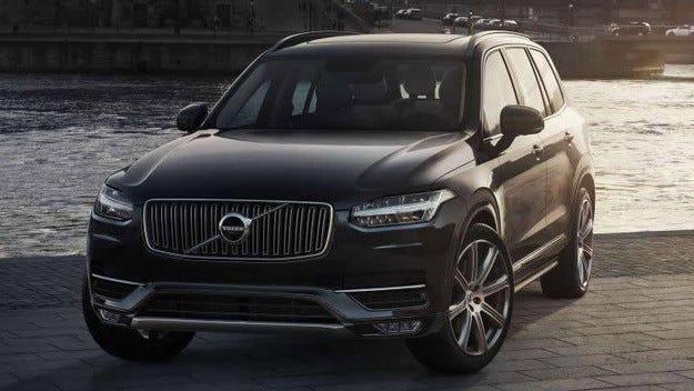 Volvo отзовава кросоувъри от новото поколение XC90