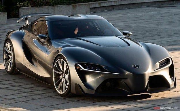 Toyota регистрира името за наследника на Supra