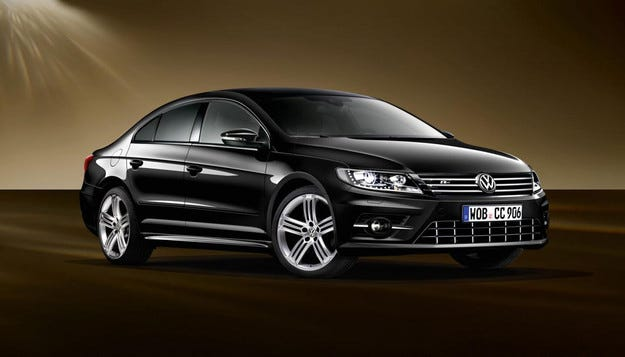 Volkswagen разсекрети специална версия на CC