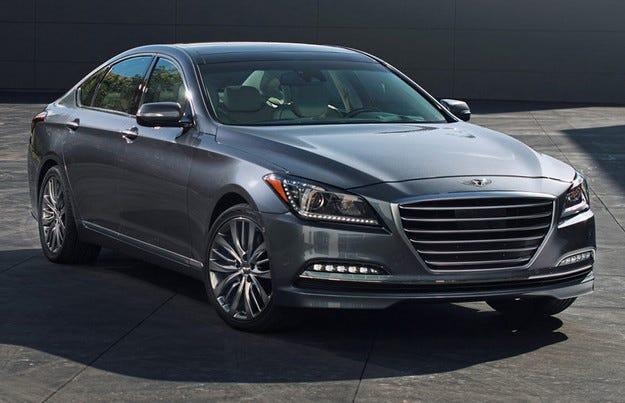 Hyundai Genesis ще се превърне в луксозен всъдеход