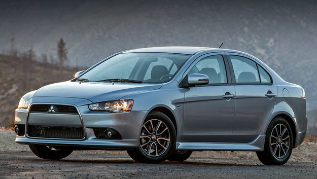 Компанията Mitsubishi започна работа по новия Lancer