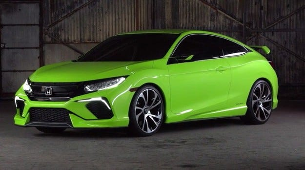 Представят новото поколение Honda Civic през есента