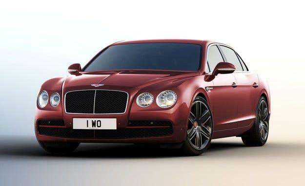 Bentley разработи най-скъпата версия на седана Flying Spur
