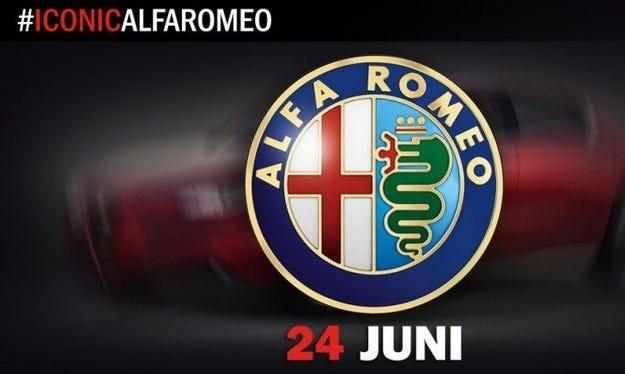 Alfa Romeo публикува първия тийзър на седана Giulia