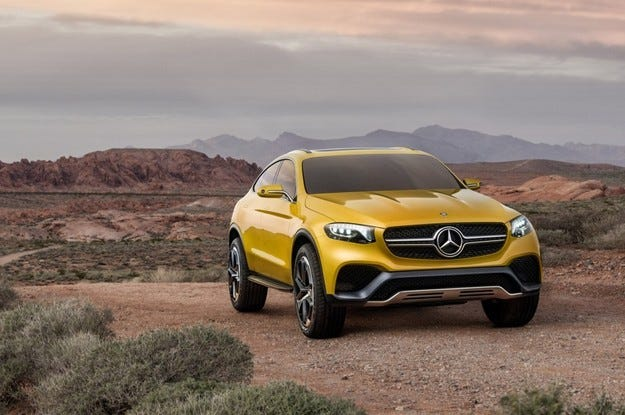 Сериен Mercedes GLC Coupe издебнат за първи път на тест