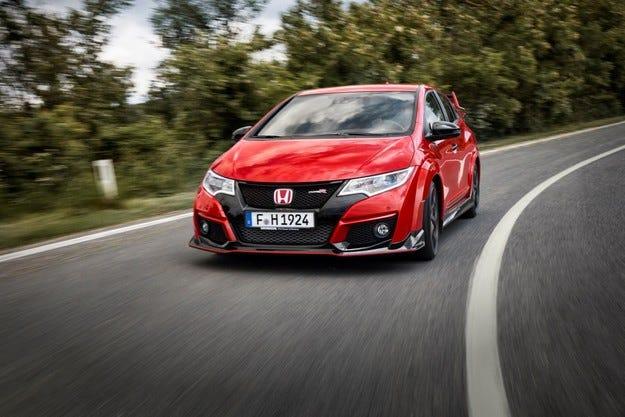 Honda започна производството на Civic Type R