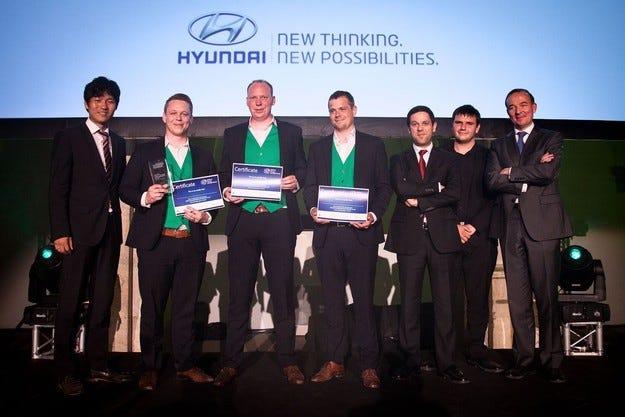 Hyundai Motor с уважение към иновативните студенти