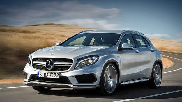 Mercedes CLA 45 и GLA 45 AMG получават 381 к.с.