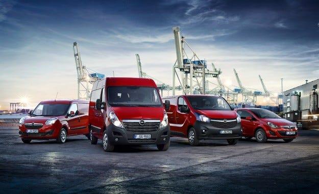 Opel отбелязва най-добрите продажби в лекотоварната гама