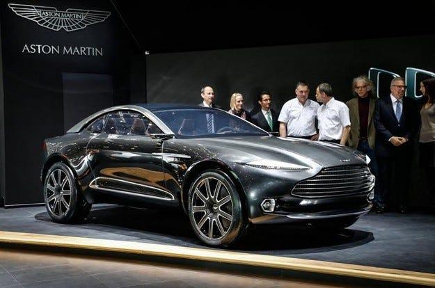 Кросоувърът Aston Martin DBX може да бъде построен в Уелс