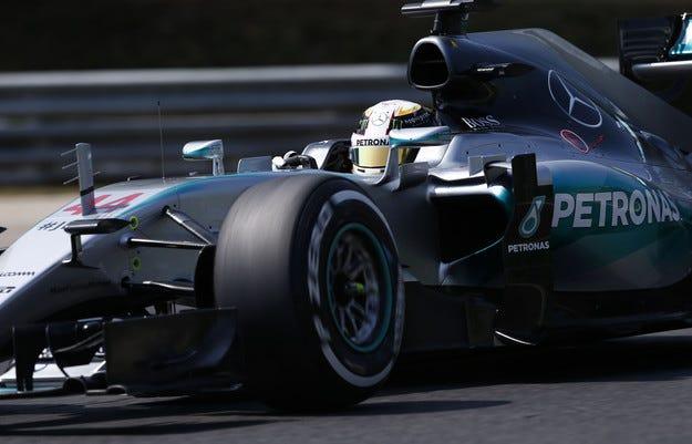 Гран при на Унгария: Хамилтън отново спечели квалификацията