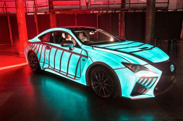 Lexus RC F реагира на сърдечния пулс на водача