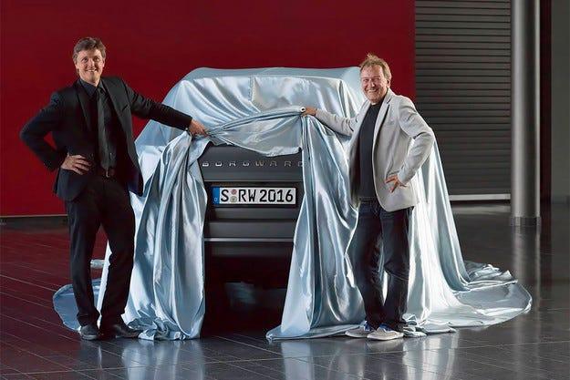 Възродената марка Borgward пусна тийзър на кросоувър