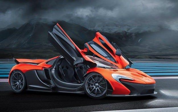 McLaren представи специална версия на модела P1