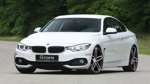 G-Power BMW 435d xDrive Biturbo дизел с 380 к.с.