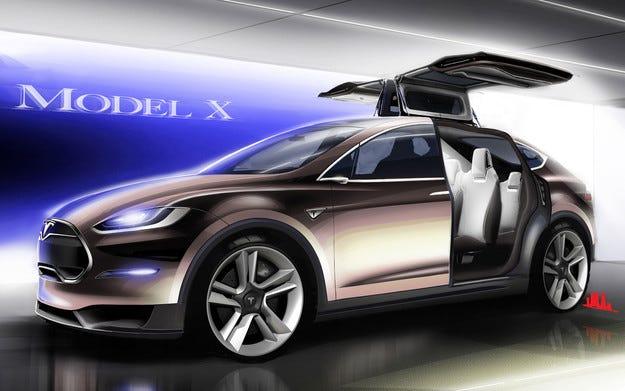 Tesla пуска кросоувъра Model X през септември 2015