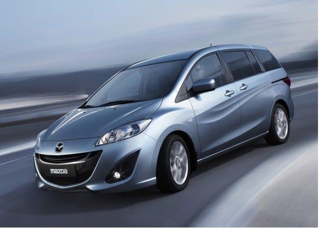 Спират производството на минивана Mazda5 през 2015 г.