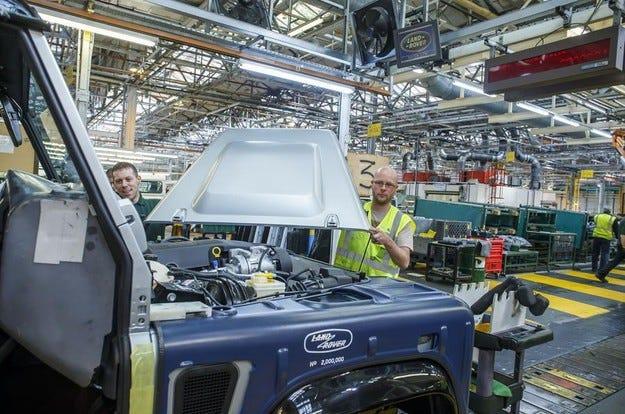 Jaguar Land Rover ще строи нов завод в Словакия