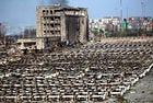 Взрив в пристанището Тяндзин унищожи 1500 коли Renault