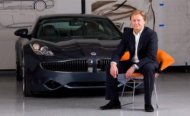 Основателят на Fisker ще създаде нова компания