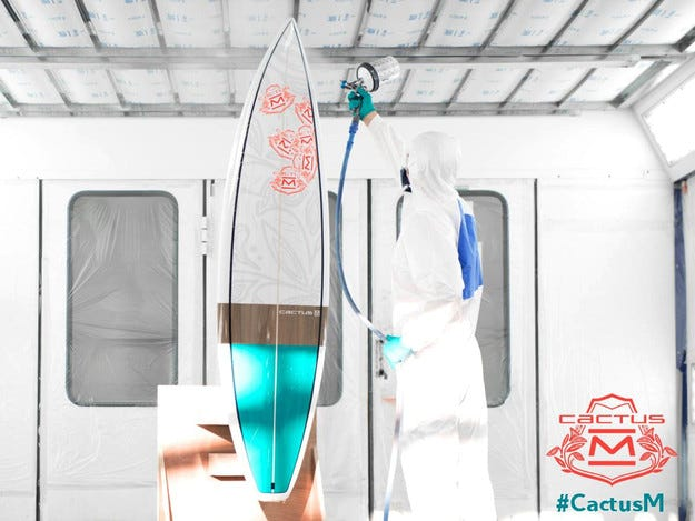 Концептът Citroen Cactus M ще получи дъска за сърф