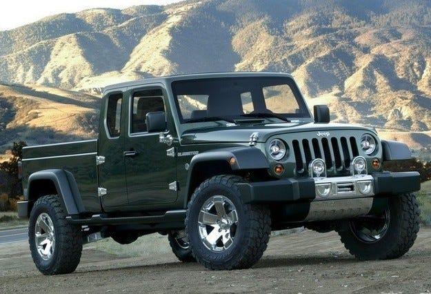 Всъдеходът Jeep Wrangler ще се превърне в пикап
