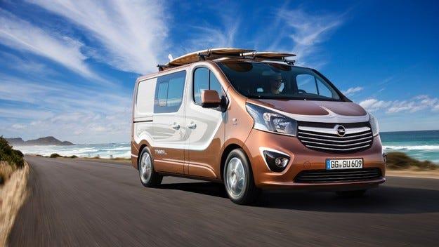 Opel Vivaro Surf: Лайфстайл ван за спорт и забавления