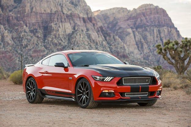 Ford Mustang оборудван с двигател с 335 конски сили