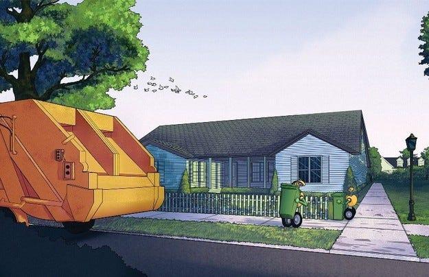 Робот ще събира контейнерите за отпадъци