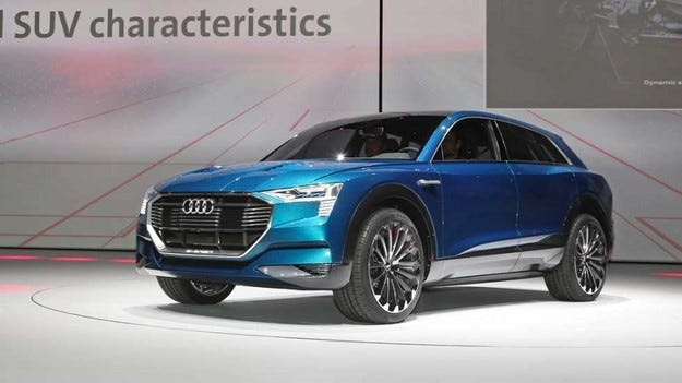 Моделната гама на Audi се обогатява с два електромобила