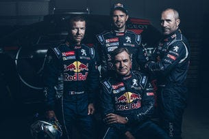 Льоб ще участва на рали Дакар с Peugeot