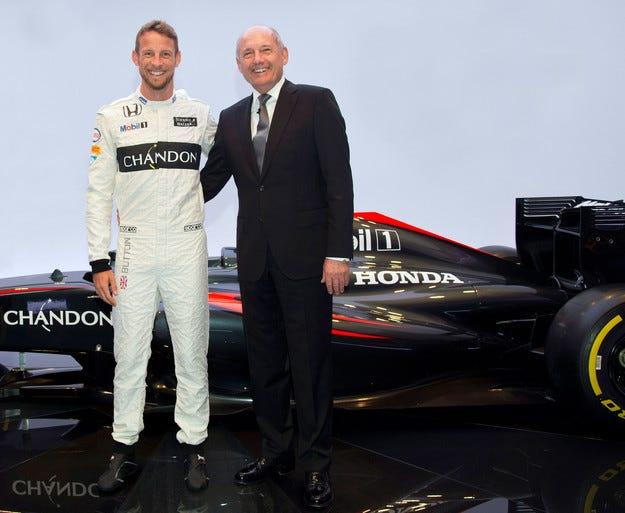 Официално: McLaren и Бътън няма да се разделят
