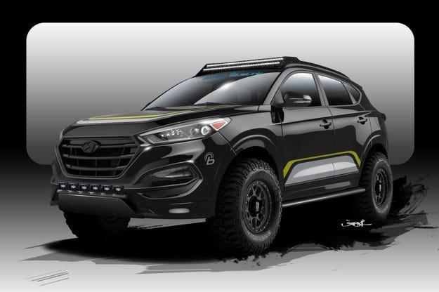 Hyundai показа офроуд версия на кросоувъра Tucson