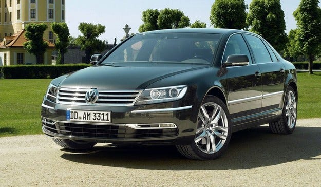 Новият Volkswagen Phaeton ще получи електрическа версия
