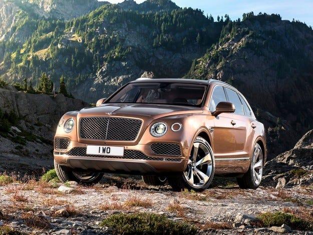 Първият кросоувър на марката Bentley получава дизел