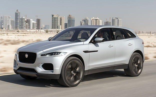 Jaguar започна разработването на електрически кросоувър